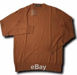 1,325$ Loro Piana Rust Baby Cashmere sweater Size Large, EU 52 Made in Italy