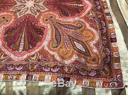 $2K ICONIC Most RECOGNISABLE LORO PIANA paisley print cashmere/silk shawl/scarf