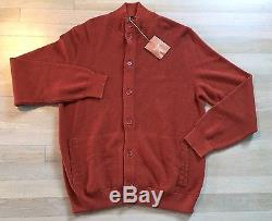 2,000$ Loro Piana Cashmere and Silk Bomber Size EU 58 or XXXL Made in Italy