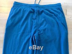 2,695$ Loro Piana Blue Baby Cashmere Sweatpants Size Large, Made in Italy