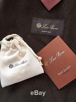 2,695$ Loro Piana Cashmere and Cotton Blazer Size EU 54 or US 44 Made in Italy