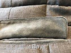 3,400$ Loro Piana Gray Real Down Cashmere Cloudey Jacket Large Made in Italy