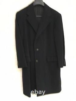 Hand Tailored R Caruso for Pauw Mannen Loro Piana Cashmere Wool Coat 48R