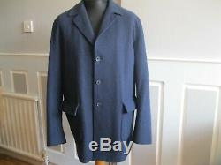 LORO PIANA 100% Baby Cashmere Storm System Mens Coat. Size XL (Authenticated)