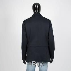 LORO PIANA 3795$ Firenze Cashmere Storm System Over Coat In Navy Blue