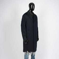 LORO PIANA 4195$ Storm Cashmere Storm System Coat In Navy Blue