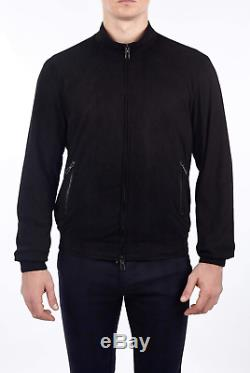 LORO PIANA Ivy Storm System Cashmere Bomber Jacket 52 / L (100% Authentic & New)