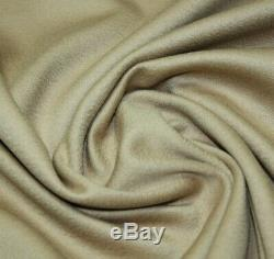 LORO PIANA LUXURY PURE CASHMERE FABRIC for TRENCH COAT JACKET