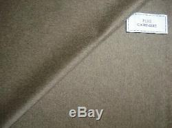 Loro Piana 100% CASHMERE COATING FABRIC IN Donkey Brown MADE IN ITALY 2.5 m
