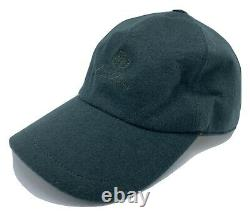 Loro Piana 100% Cashmere Green Storm System Baseball Cap Size L Made in Italy