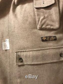 Loro Piana 100% Cashmere Icer Coat, Long Version, With Cashmere Liner Men's L $6500