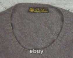 Loro Piana 100% Cashmere Jumper Men Sweater Made In Italy Size 56