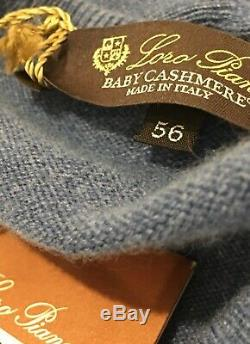 Loro Piana $1,125.00 Scollo V Classic Baby Cashmere Made in Italy New withtags