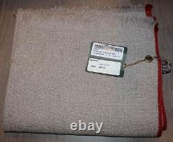 Loro Piana 60% Baby Cashmere/40% Cashmere Men's Scarf Beige NWT Italy