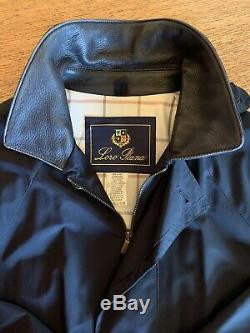 Loro Piana Horsey Coat with Removable Cashmere Lined Vest Size M