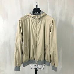 Loro Piana Mens Storm System Cashmere Hoodie Hooded Bomber Jacket Size XL XXL 54
