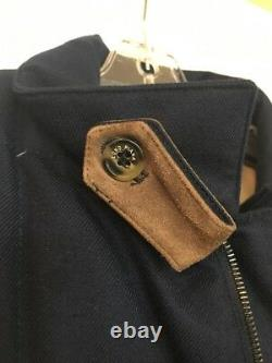 Loro Piana Navy storm jacket baby cashmere quilted size XL