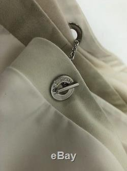 Loro Piana Vail Windstorm Reversible Cashmere White Cape $3300.00 2018 Style