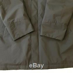 Loro Piana Windbreaker Jacket Coat Mens XL Storm System Cashmere Lining Italy