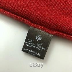 Loro Piana Women BABY CASHMERE Oversize Jumper Sweater Hoodie Pullover Size S 40