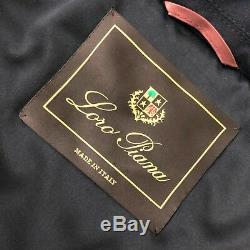Loro Piana Women BABY CASHMERE Storm System Goose Down Puffer Jacket Size S IT42