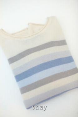 Luxurious Loro Piana 100% Baby cashmere pullover jumper knitwear