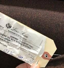 NEW LISTING! CASHMERE LORO PIANA FABRIC STORM SYSTEM SUITING MSRP $800Y- tweed
