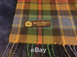 Vintage designer Italian mens cashmere scarf by Loro Piana from Harrods
