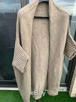 Womens Loro Piana 100% Cashmere Shrug / Cardigan Sweater Robe Medium
